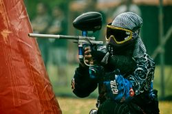 Deltagare i paintball-SM